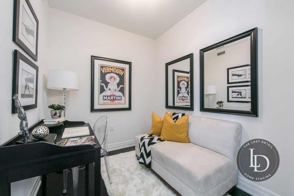 Staging A Den In A Condo Is An Art Find Out How We Do It